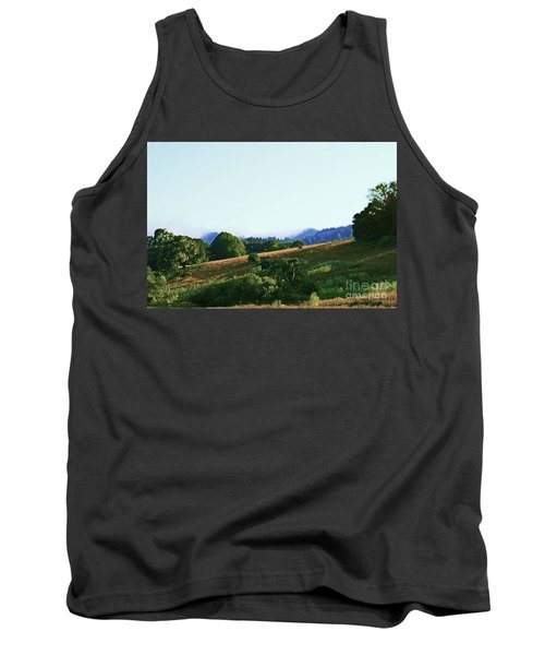 Tank Top featuring the photograph Creator's Sky Painting by Polly Peacock