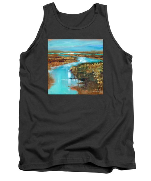 Curve In The Waterway Tank Top