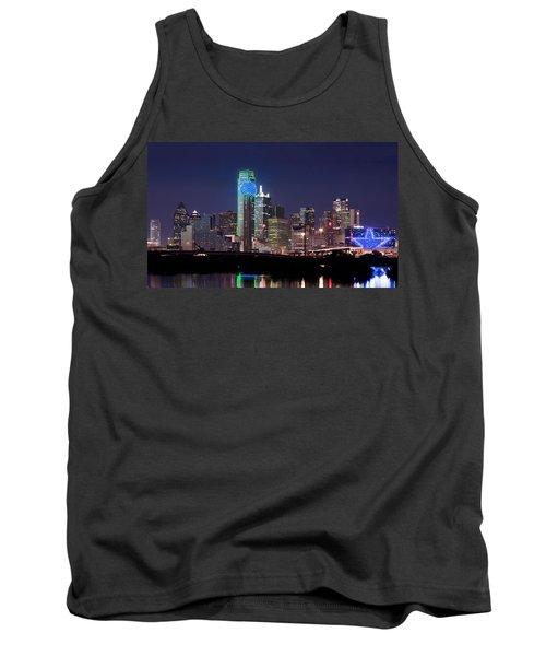 Dallas Skyline Cowboys Tank Top
