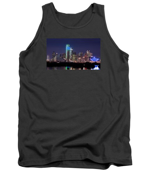 Dallas Skyline Cowboys Tank Top