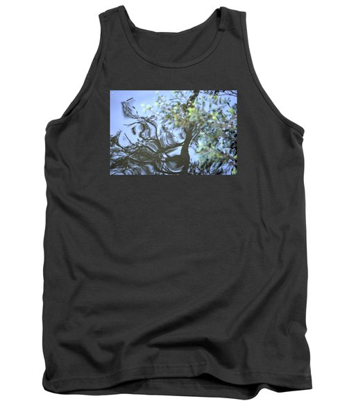 Tank Top featuring the photograph Dancing Leaves by Linda Geiger