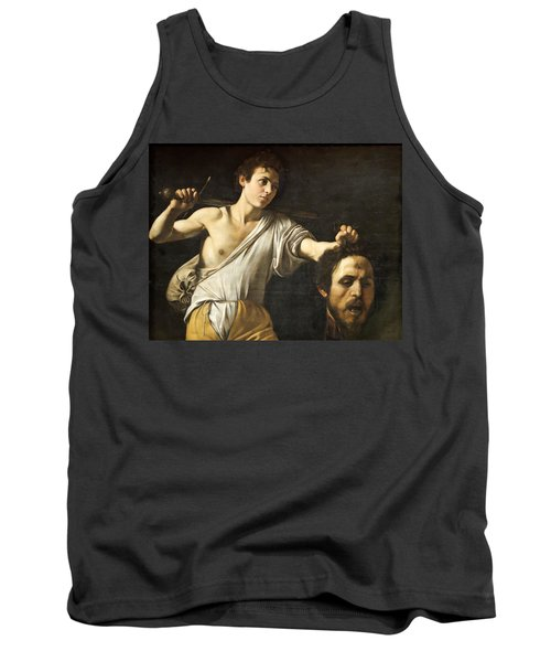 David With The Head Of Goliath Tank Top