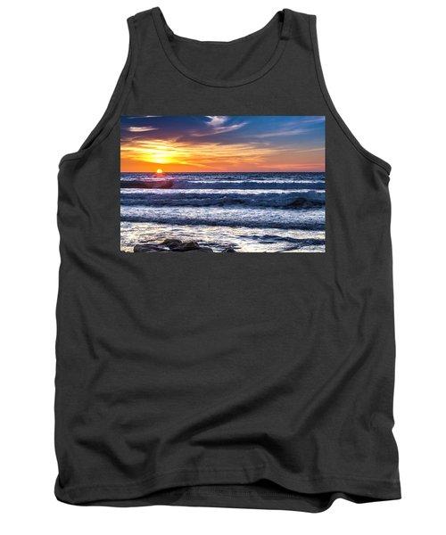 Sunset - Del Mar, California View 1 Tank Top