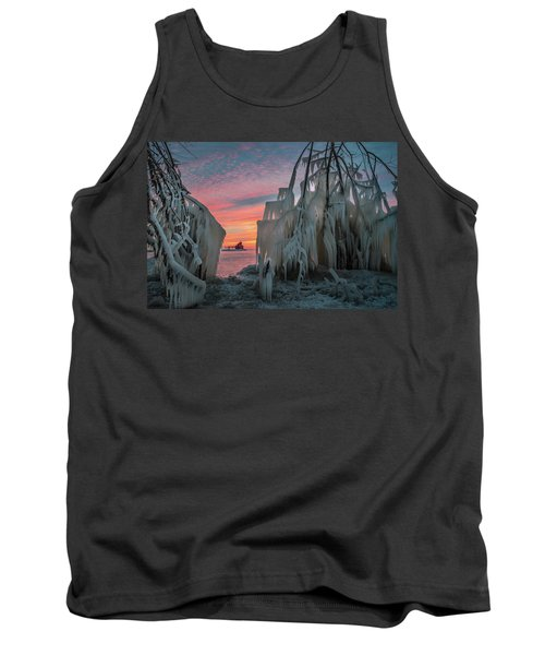 Distant Lighthouse Tank Top
