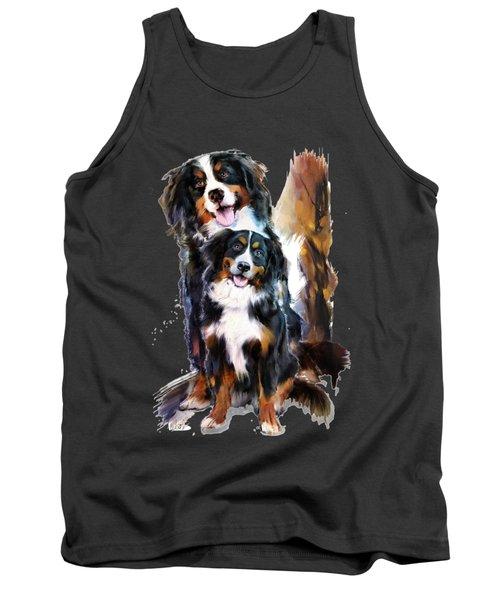 Dog Family Tank Top