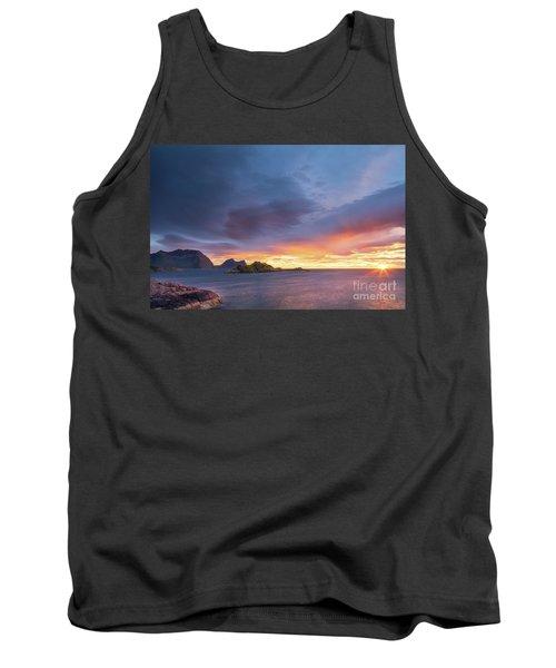 Dreamy Sunset Tank Top by Maciej Markiewicz