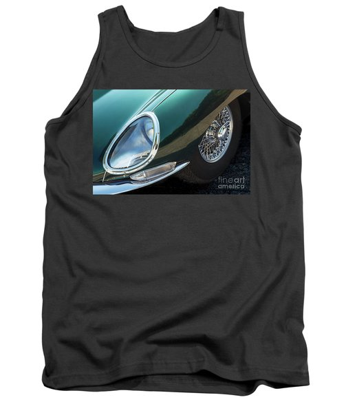 Tank Top featuring the photograph E-type by Dennis Hedberg