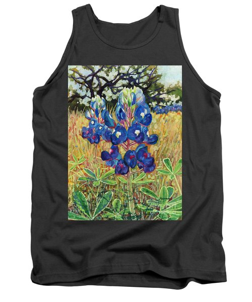 Tank Top featuring the painting Early Bloomers by Hailey E Herrera