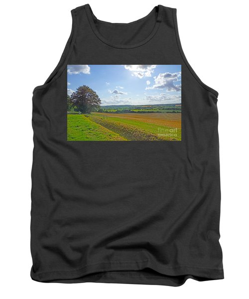 English Countryside Tank Top by Andrew Middleton