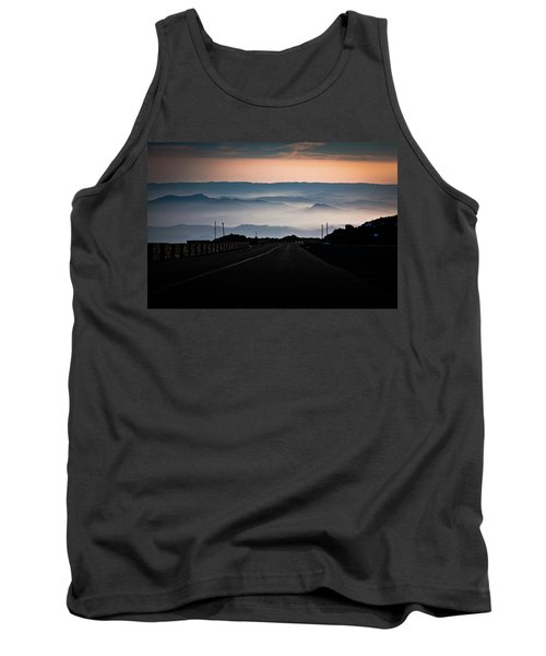 Tank Top featuring the photograph Etna Road by Bruno Spagnolo