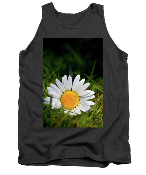 Tank Top featuring the photograph Fallen Daisy by Scott Holmes