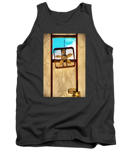 Tank Top featuring the photograph Fan by Newel Hunter