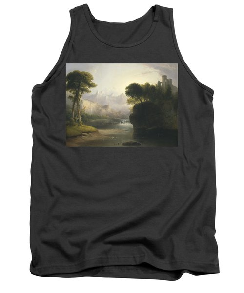 Fanciful Landscape Tank Top