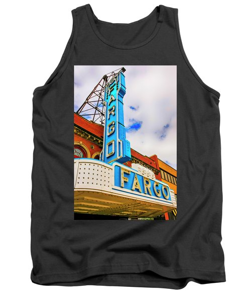 Fargo Theater Sign Tank Top