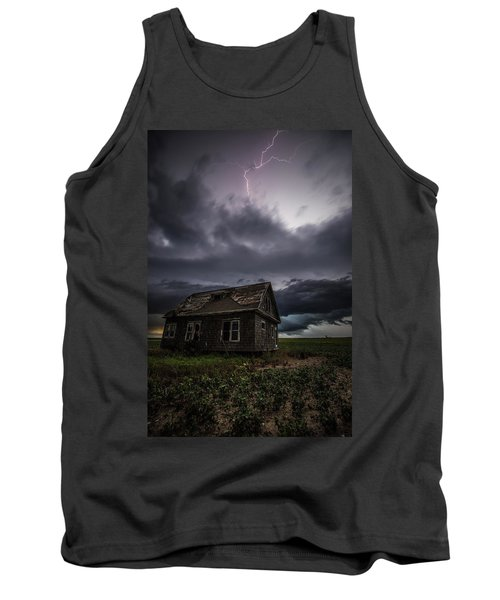Tank Top featuring the photograph Fear by Aaron J Groen