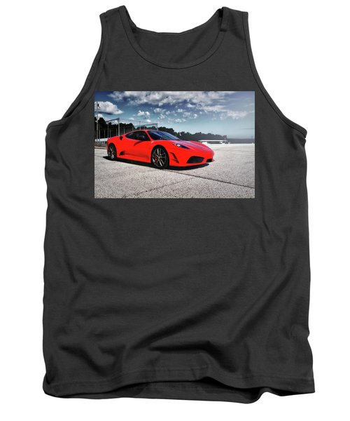 Tank Top featuring the photograph Ferrari F430 by Joel Witmeyer
