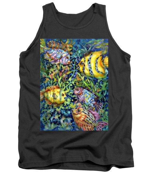 Fish Tales Iv Tank Top