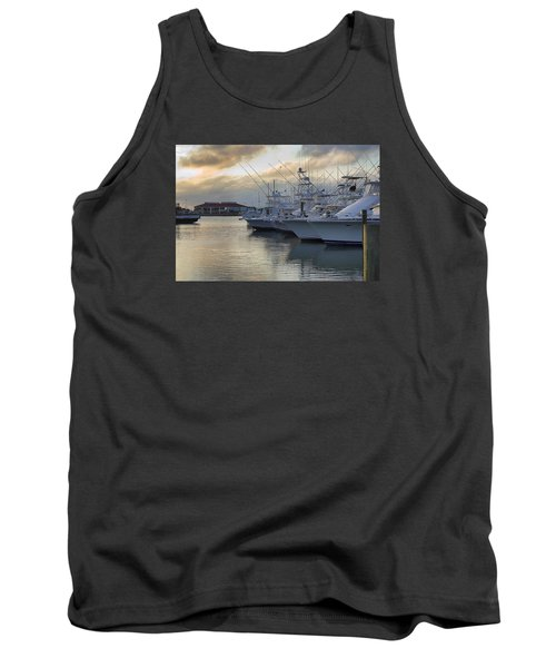 Fishing Yachts Tank Top