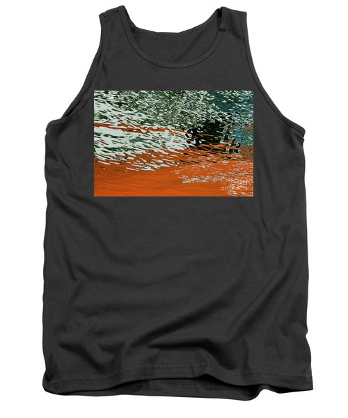 Tank Top featuring the photograph Floating On Blue 43 by Wendy Wilton