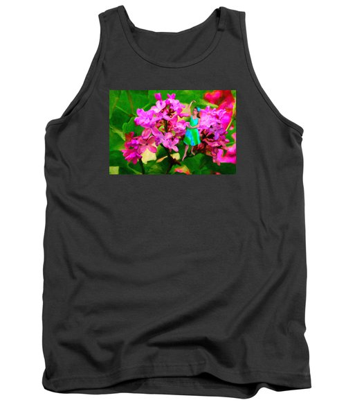 Flower Fairy  Tank Top by Andre Faubert