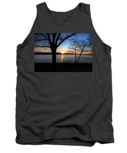 Ford Lake Sunset Tank Top