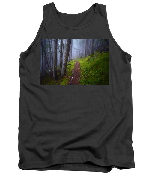 Tank Top featuring the photograph Forest Mysteries by Tara Turner
