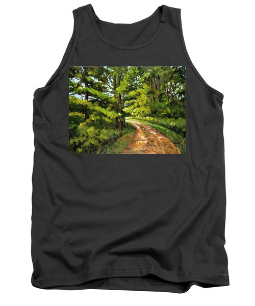Forest Pathway Tank Top by Alexandra Maria Ethlyn Cheshire