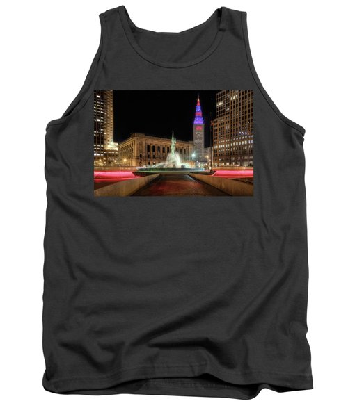Tank Top featuring the photograph  Fountain Of Eternal Life by Brent Durken