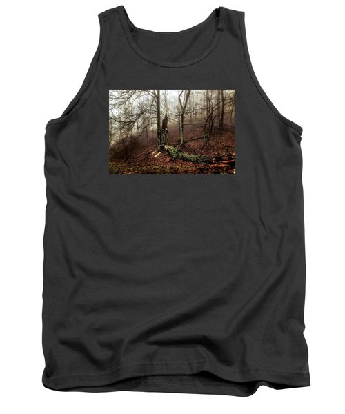 Fractured In Fog Tank Top
