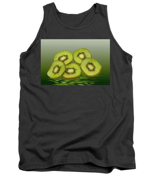 Fresh Kiwi Fruits Tank Top