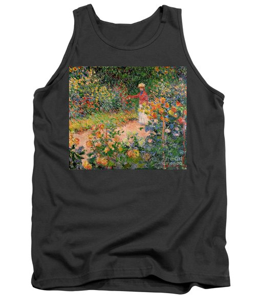 Garden At Giverny Tank Top