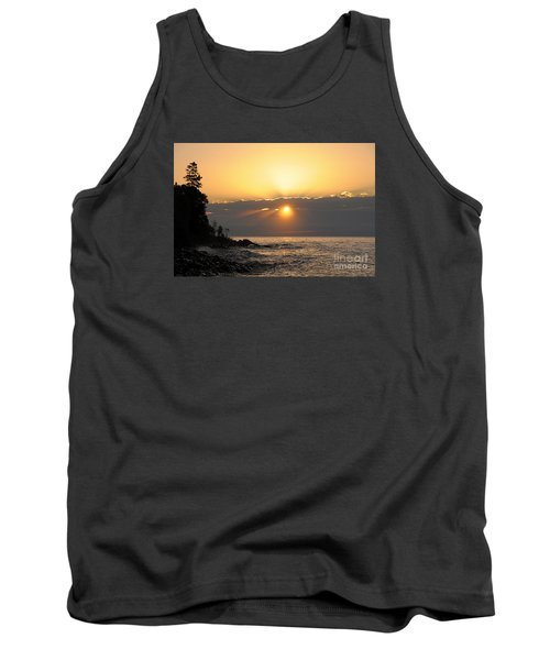 Tank Top featuring the photograph Golden Glow by Sandra Updyke