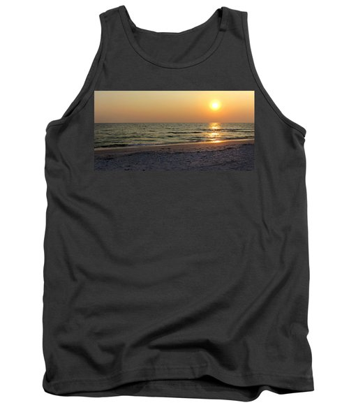 Golden Setting Sun Tank Top