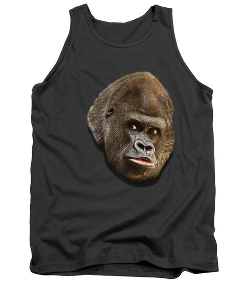 Gorilla Tank Top by Ericamaxine Price