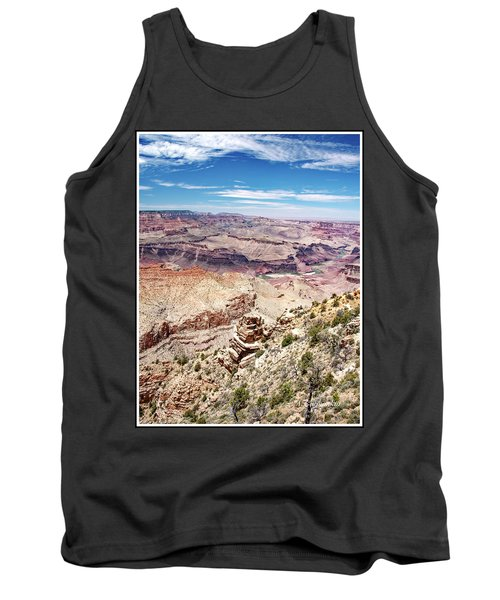 Grand Canyon View From The South Rim, Arizona Tank Top by A Gurmankin