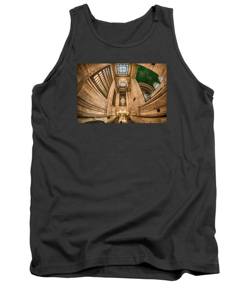 Tank Top featuring the photograph Grand Central Terminal Underpass by Rafael Quirindongo