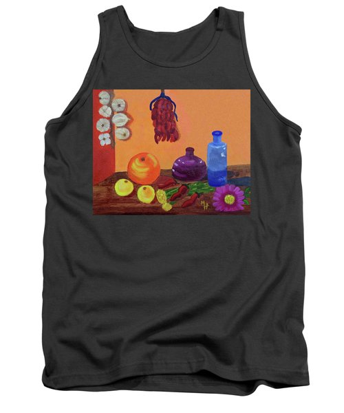 Hanging Around With Spices Tank Top by Margaret Harmon