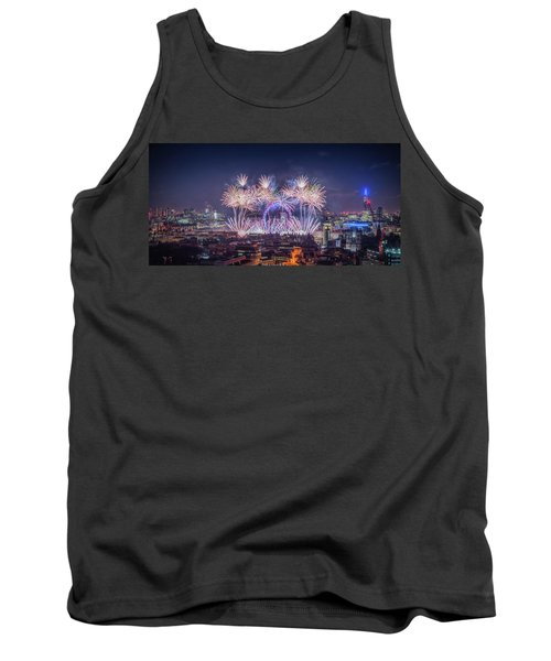 Happy New Year 2018 Tank Top