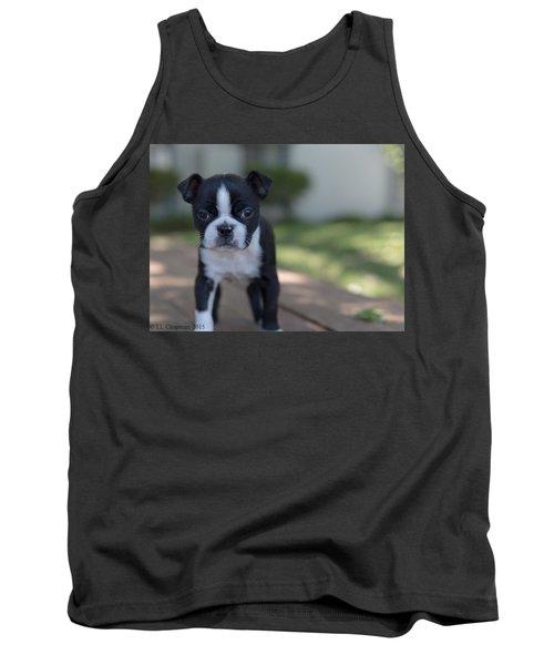 Harley As A Puppy Tank Top