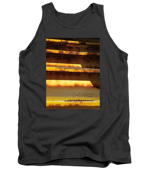 Tank Top featuring the photograph Heavy Metal by Olivier Calas