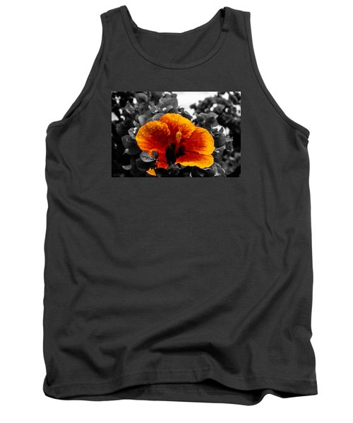 Tank Top featuring the photograph Hibiscus Beauty by Randy Sylvia