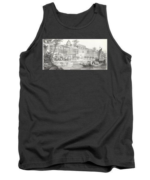Historical And Anecdotal Shown Great Panorama Tank Top