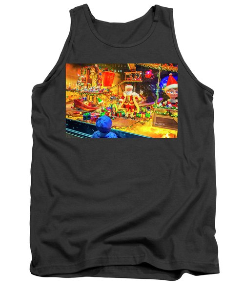 Holiday Widow Display In New York Tank Top