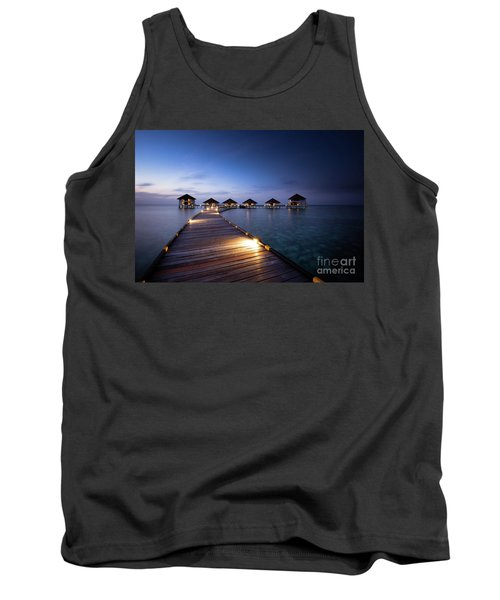 Tank Top featuring the photograph Honeymooners Paradise by Hannes Cmarits