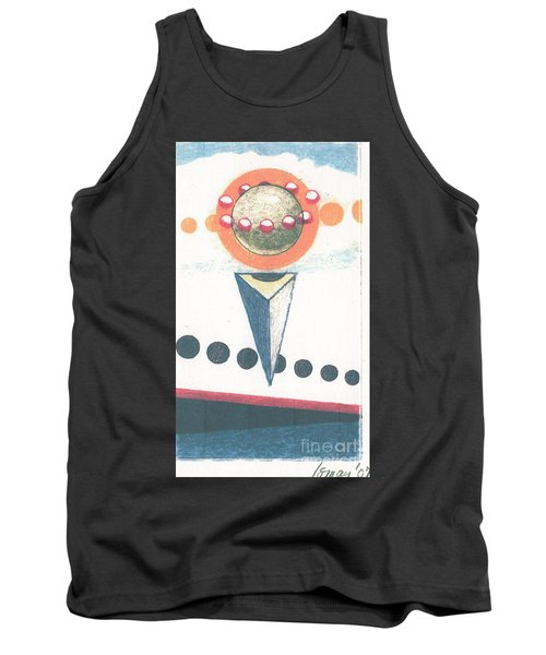 Tank Top featuring the drawing Idea Ismay by Rod Ismay