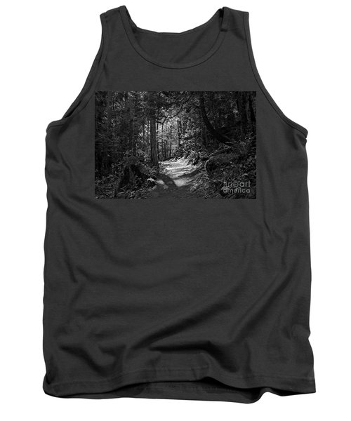 Tank Top featuring the photograph In The Forest by Cendrine Marrouat