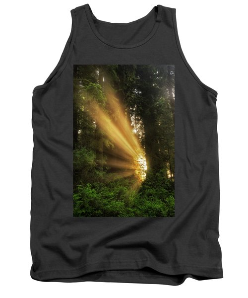 Into The Light Tank Top