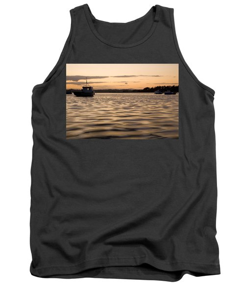 Tank Top featuring the photograph Irish Dusk by Ian Middleton