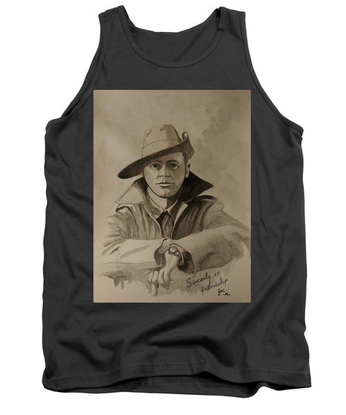 Tank Top featuring the painting Joe by Ray Agius