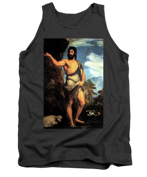 John The Baptist Tank Top